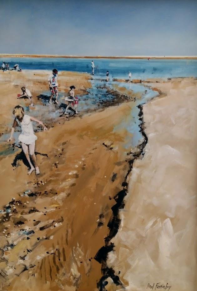 Wells Next Sea Beach Scene