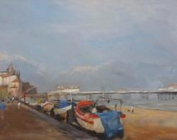 Promenade, Cromer East Beach BW