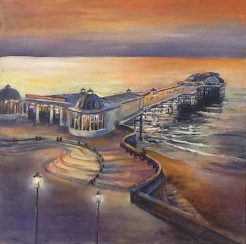 Twilight, Cromer Pier