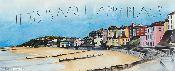 Happy Place, Cromer Sam Cannon