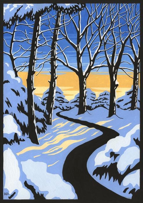 Winter Sunrise £50.00