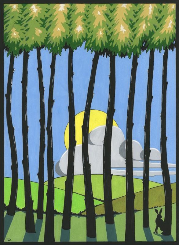 woodland summer 2