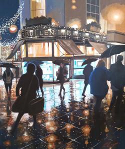 London Street Norwich in the Rain II
