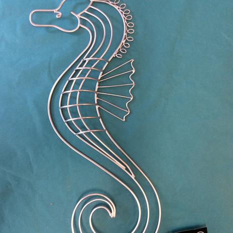 Seahorse wall art  £15.00