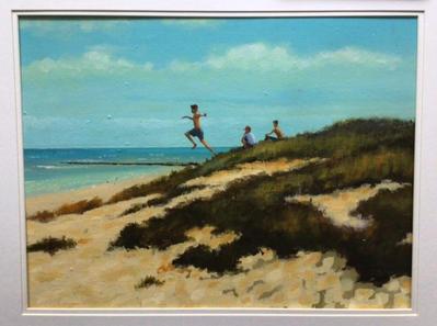 Jumping the Dunes, Winterton SOLD