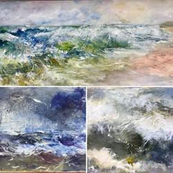 Maureen Cherry oil paintings