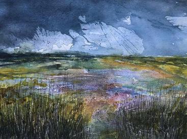 Storm over Saltmarsh