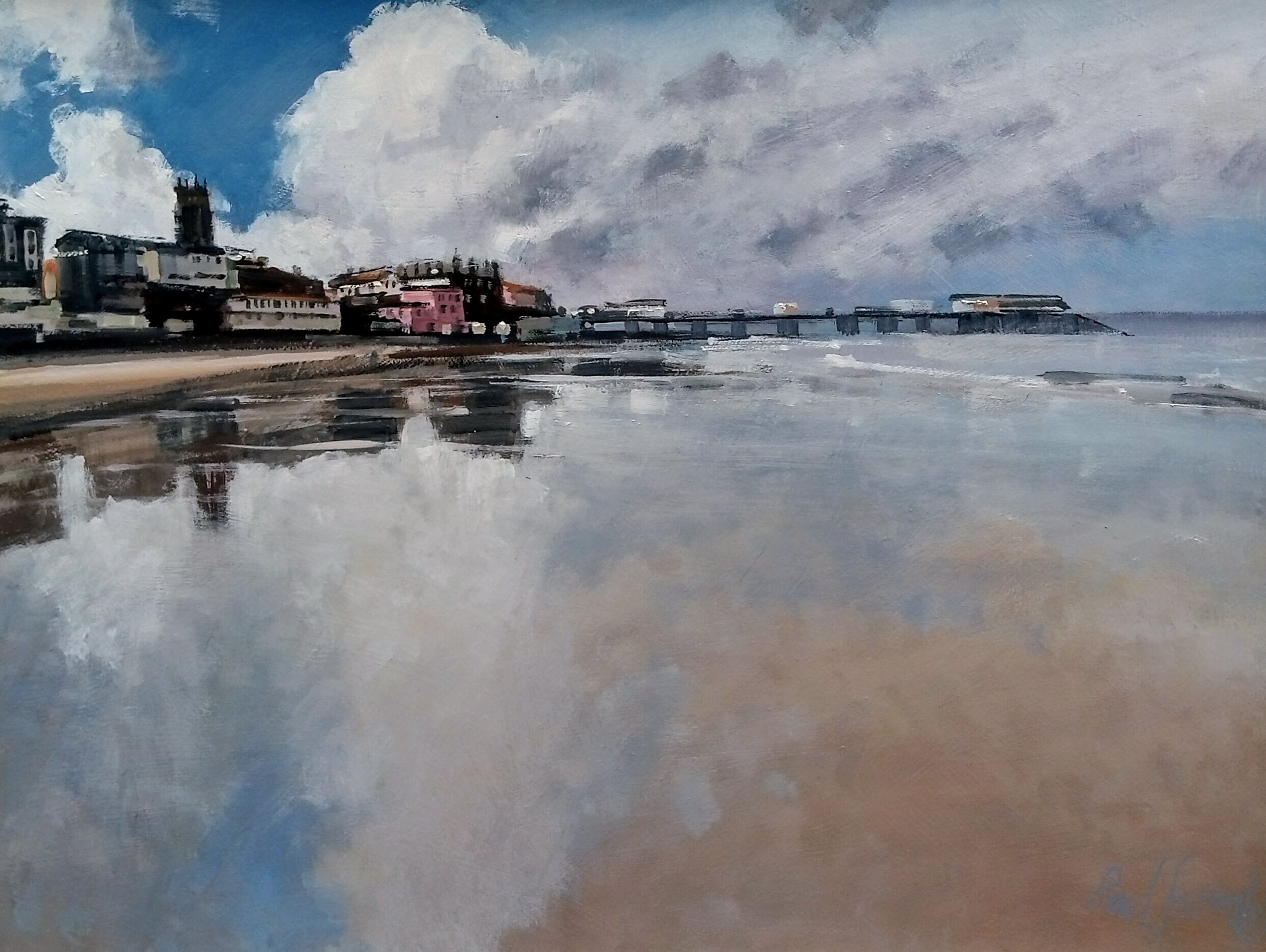 Reflections Cromer Pier