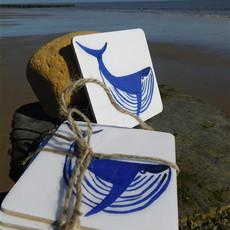 Whale Coasters £10.00 set 4.