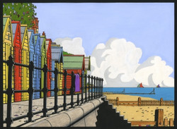 Beach Huts at Mundesley (Low Res)