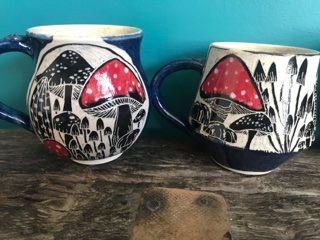 Mushroom mugs £18.00