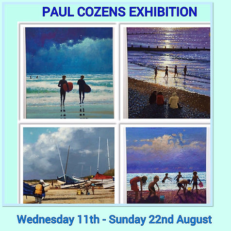 Paul Cozens Exhibition