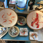 Shrimp and lobster bowls £30.00 each