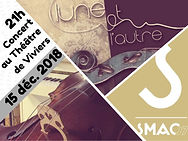 Concert Lune & L'autre Viviers 15-12-18.