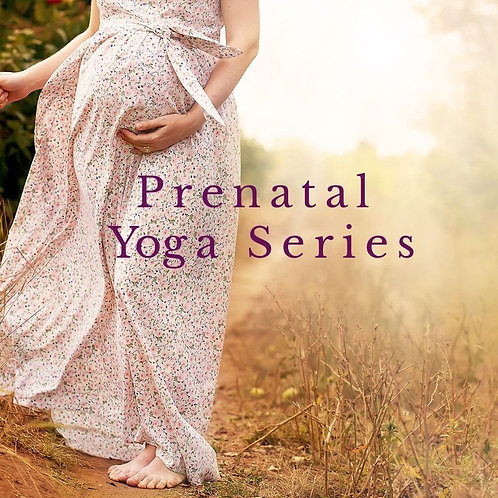 Prenatal Yoga 4 week series