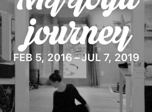 My Yoga Journey