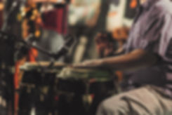Man with Tribal Drums