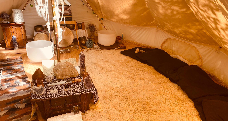 (New Client) Healing Tent