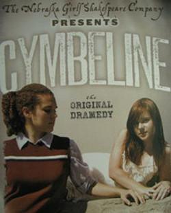 Imogen in Cymbeline poster.