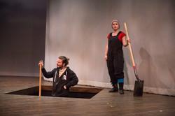 Gravedigger in Hamlet.