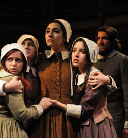 Mercy Lewis in The Crucible.