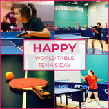 WORLD TABLE TENNIS DAY - April 6 2021