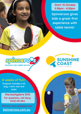 ANNOUNCING SPINNEROOS PROGRAM (aimed at primary school aged children)
