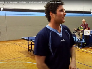 International Class Table Tennis Match to Feature at Sunshine Coast Closed Tournament