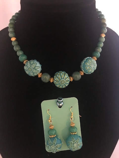 BLDesigned Necklace & Earrings