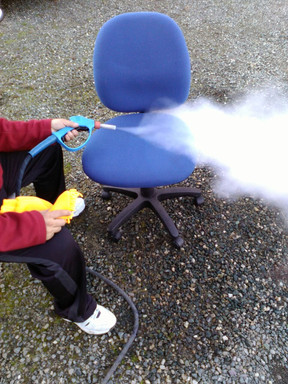 Office Chair Steam Cleaning