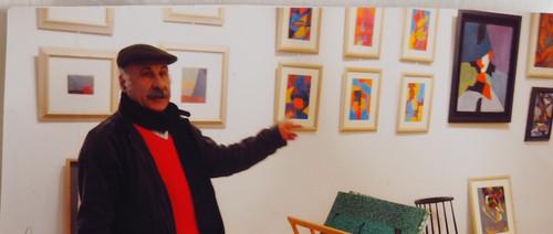 Moussa Tiba, artiste peintre