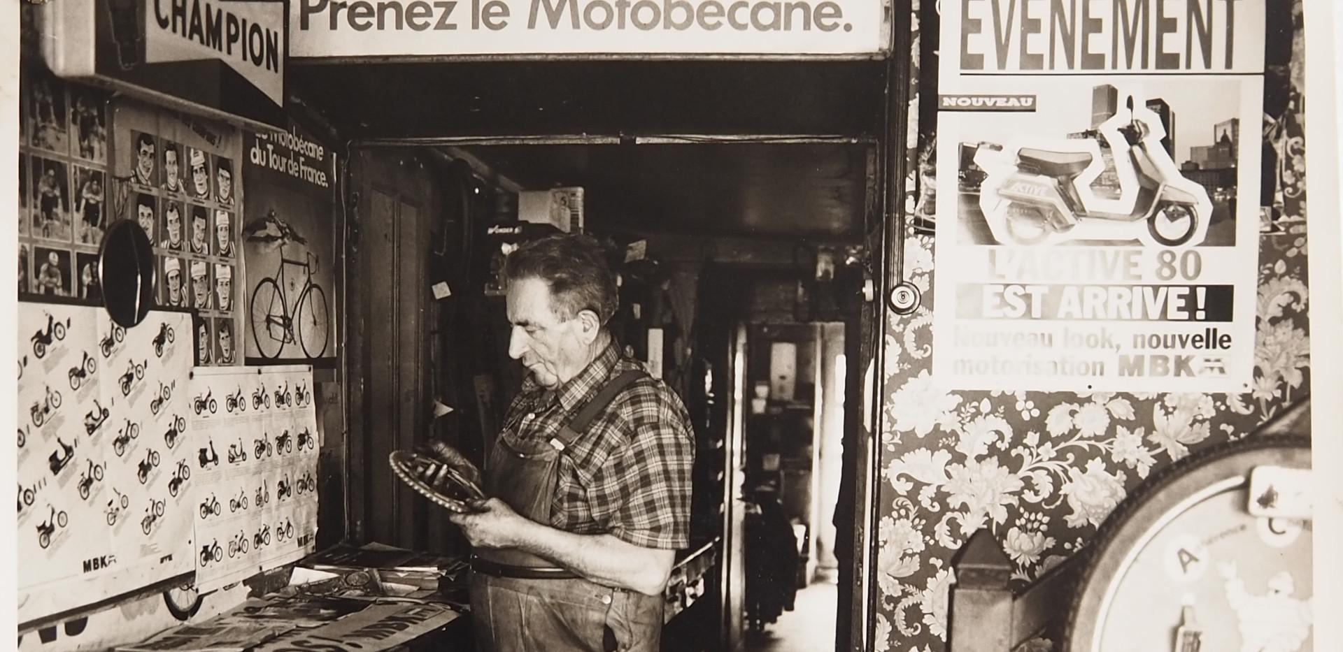 Monsieur Pommereau, rue du Pont Saint-Hilaire