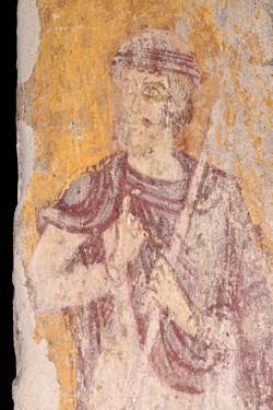 fresque de l'église st Pierre