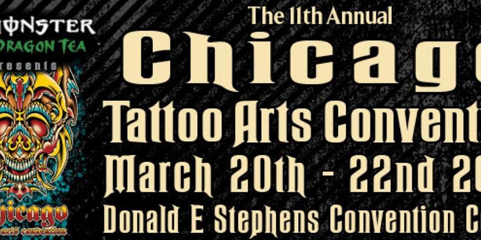 11th Annual Villain Arts Chicago Tattoo Arts Convention