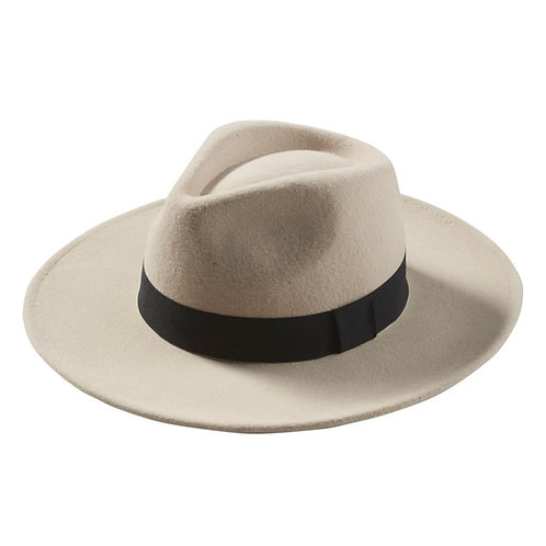 Hadley Wren Wool Panama Hat