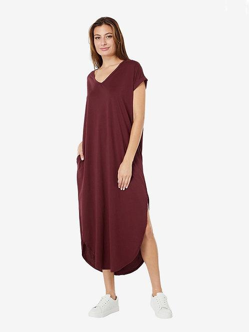 Bobi Supreme Jersey Tee Maxi Dress
