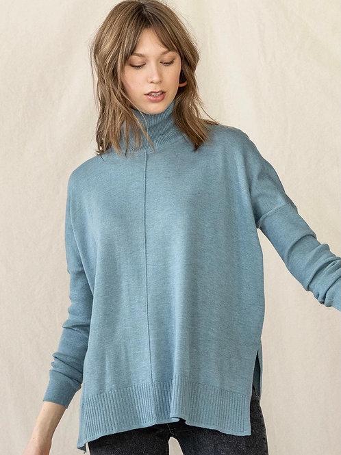Lilla P Oversized Turtleneck Sweater