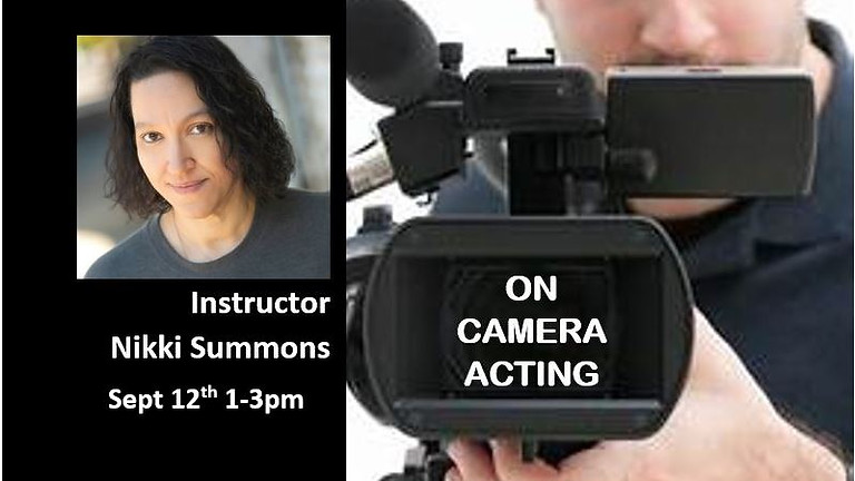 On Camera Acting