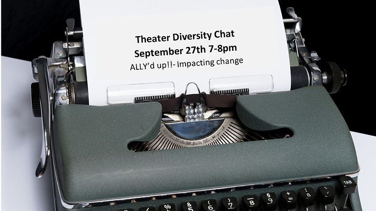 September Diversity Chat: Ally'd up!!- Impacting Change