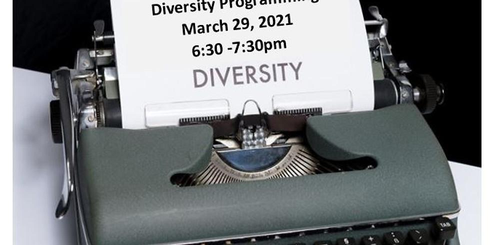 March Diversity Chat: Diversity Programming