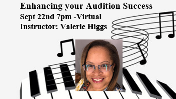 Enhancing your Audition Success