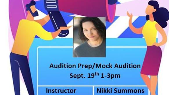 Audition Prep/Mock Audition