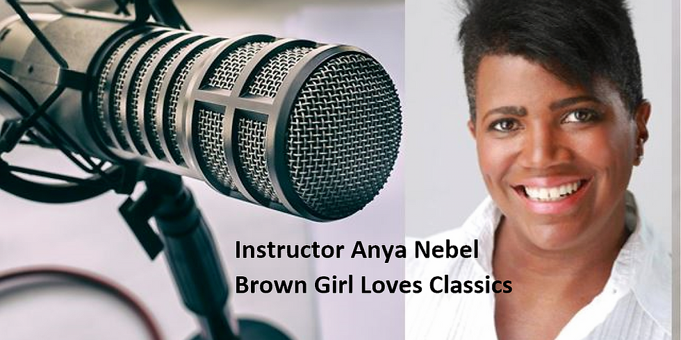 How to Start a Podcast - Anya Nebel