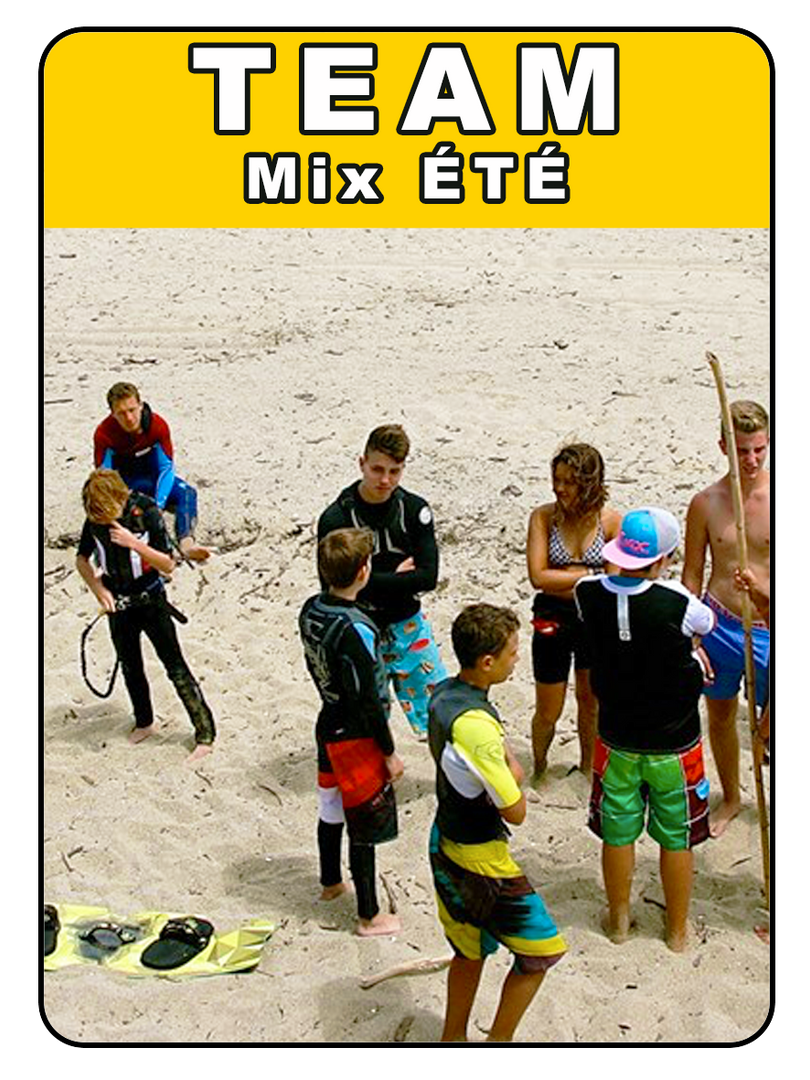 TEAM MIX ÉTÉ