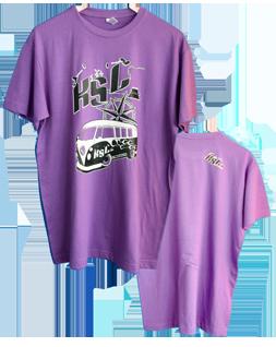 T-Shirt Col Rond Violet