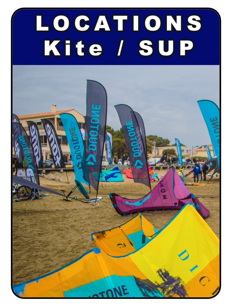 LOCATIONS KITESURF / SUP