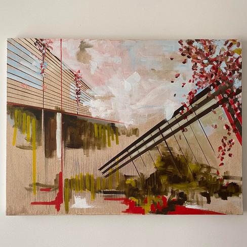 "30"" x 40""   oil on canvas"