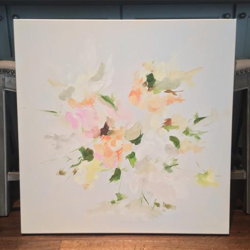 "30"" x 30""   oil on canvas"
