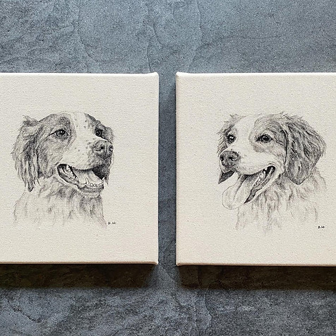 "10"" x 10"" each 