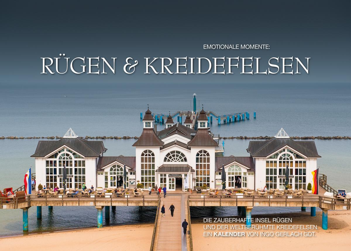 Kalender Rügen und Kreidefelsen
